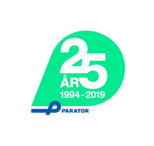 Parator fyller 25 år